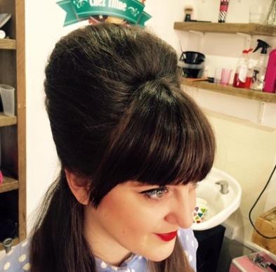 chez titine vintage hair beehive