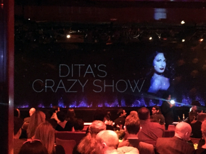 dita crazy horse  paris